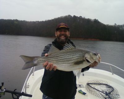 Lake allatoona fishing guides report for 3 25 09 at lake for Lake allatoona fishing