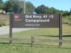 Old Highway 41 3 Campground At Lake Allatoona