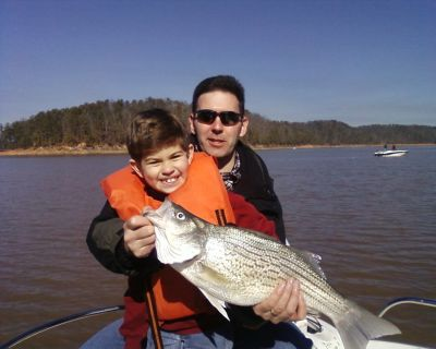 Lake Allatoona And Carters Lake Fishing Guides Report For Feb 7 At