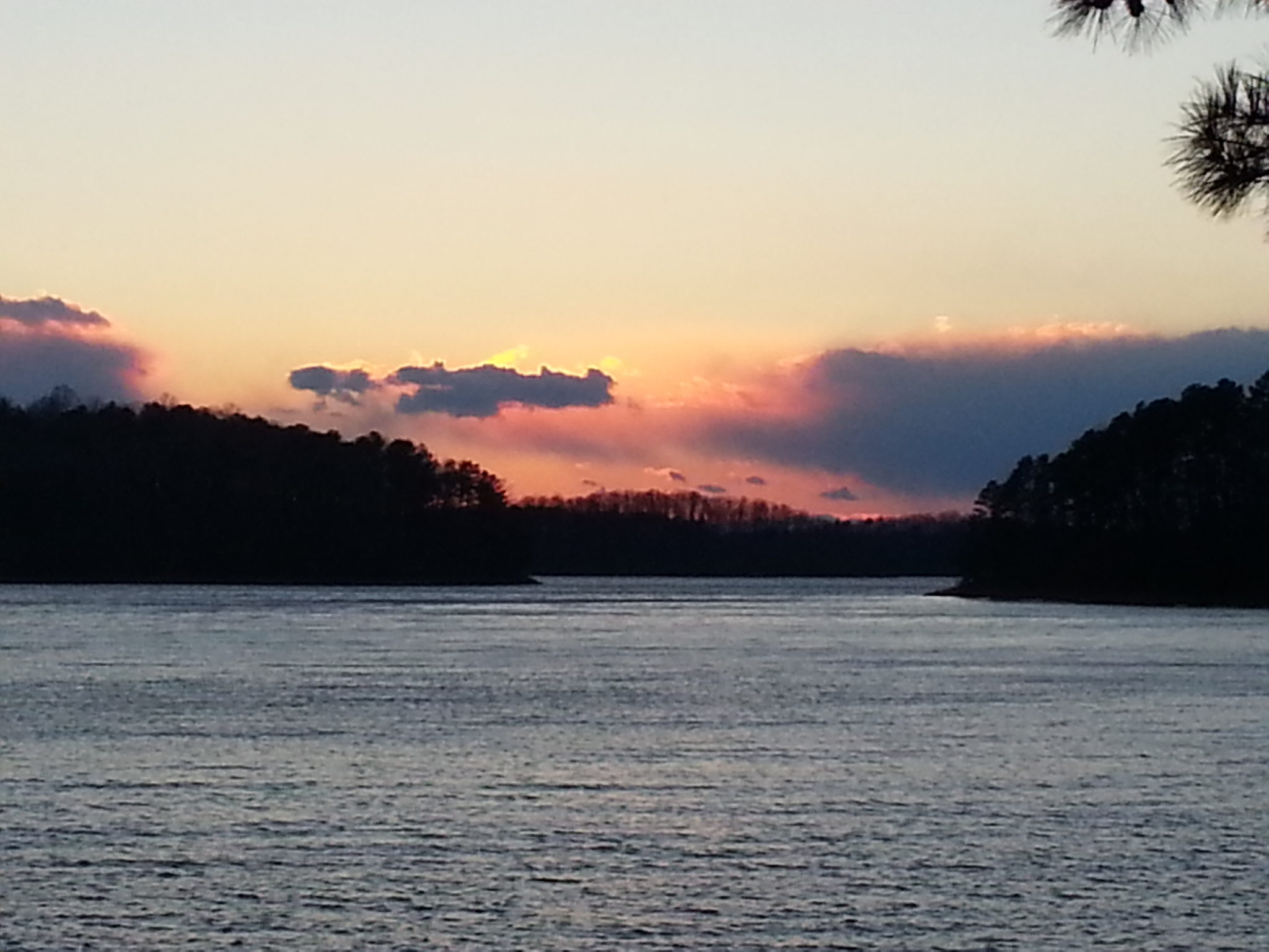 Twilight hikes at red top mtn state park at lake allatoona for Lake allatoona fishing