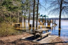 High Water at Lake Allatoona ~ Photo courtesy of USACE