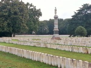 Andersonville National Cemetery in Georgia ~ Photograph by Robert Sutherland