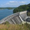 Lake Allatoona Dam ~~ Photograph by Robert Sutherland