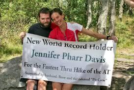Jennifer Pharr Davis ~ Photo from her Facebook Page