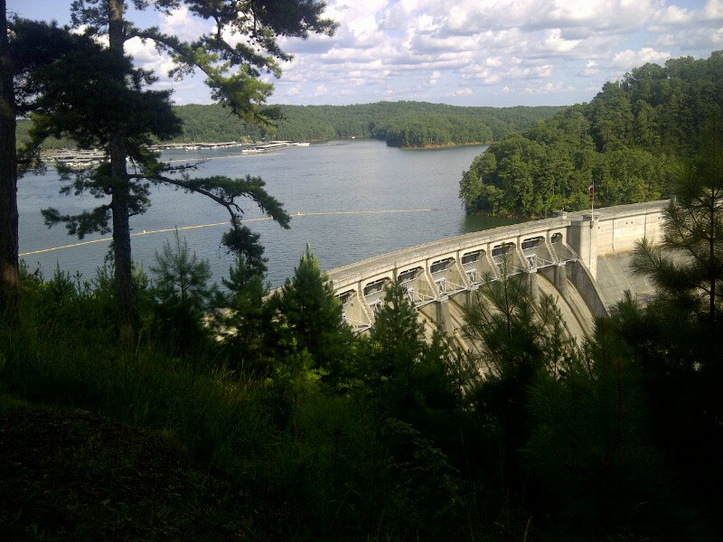 Final week of summer for some day use parks at lake allatoona for Lake allatoona fishing