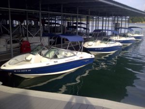 Rent a boat on Lake Allatoona at Paradise Rental Boats