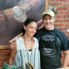 Shannen & Bill Oyster of Oyster Fine Bamboo Fly Rods ~~ Photograph by Robert Sutherland