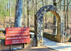The Appalachian Trail Begins on Springer Mountain in Georgia ~~ Photograph by Robert Sutherland