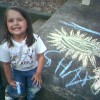 World's Best Sidewalk Chalk Artist ~~ Photograph by Grampa Sutherland
