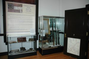 """Cherokee County History Museum also has """"Cherokee Voices from the Civil War"""" on display."""