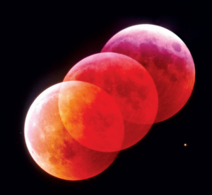 View the eclipse of the moon at Tellus in the wee hours of Tuesday, April 15, 2014.