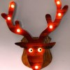 Deer that glow in the dark would make driving easier and hunting safer.