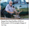 Ranger Fred Hayes ~ 2014 DNR Law Enforcement Investigative Ranger of the Year
