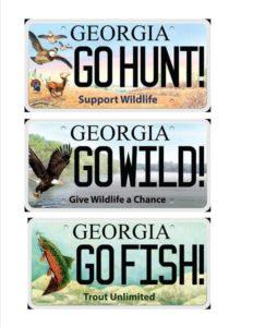 Georgia's Wildlife Tags